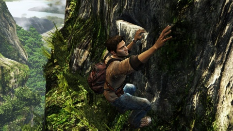 Uncharted Nathan Drake Jungle