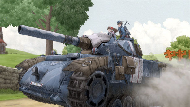 Valkyria Chronicles Edelweiss Tank