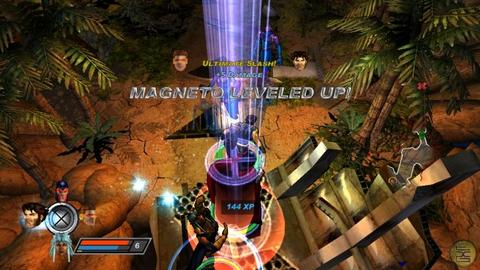 X Men Legends 2 Magneto Level Up