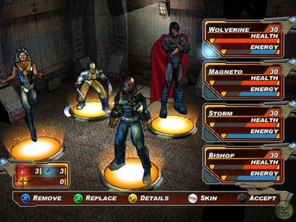 X Men Legends 2 Wolverine Magneto Storm