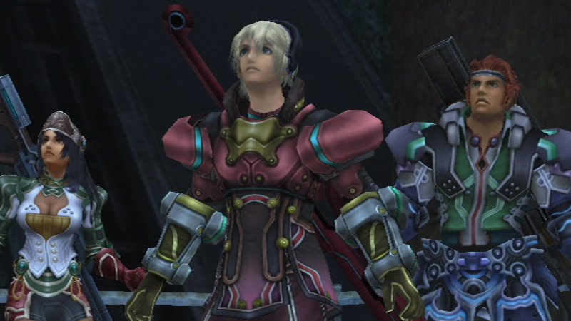 Xenoblade Chronicles Armor Detail