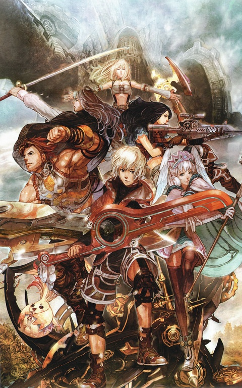 Xenoblade Chronicles Character Poster art