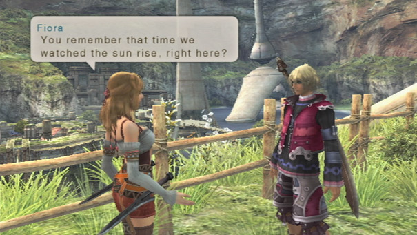 Xenoblade Chronicles Shulk Fiora