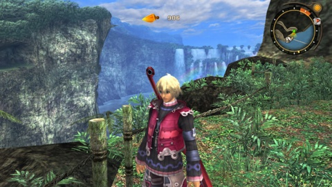 Xenoblade Chronicles Shulk Minimap