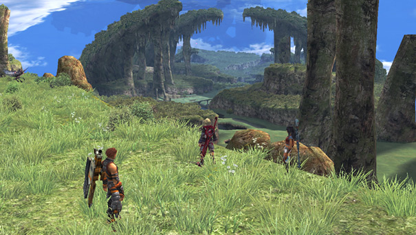 Xenoblade Chronicles Shulk Plains