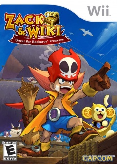 Zack and Wiki Quest for Barbaros Treasure Cover
