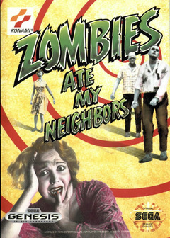 Zombies Ate My Neighbors Cover